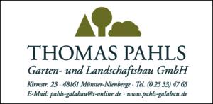 Thomas Pahls Garten- und Landschaftsbau GmbH, Kirmstraße 23 48161, Münster-Nienberge