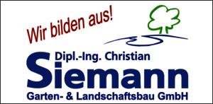 Dipl.- Ing. Christian Siemann  Garten- & Landschaftsbau,  Brock 50,  48346 Ostbevern